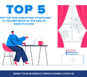 Top 5 Effective B2B Marketing Strategies to Incorporate in the Era of Remote Work