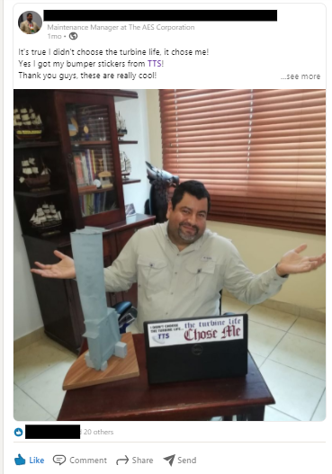 Example User Generated Content Facebook Post